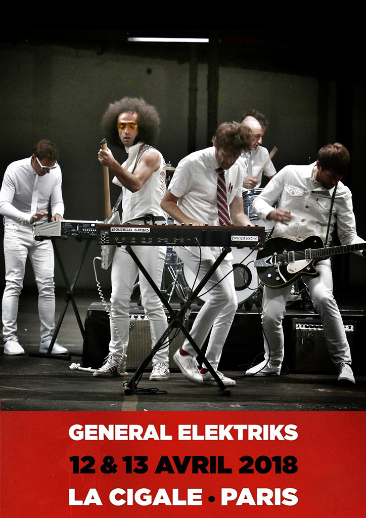 General Elektriks - La Cigale - 13 Avril 2018
