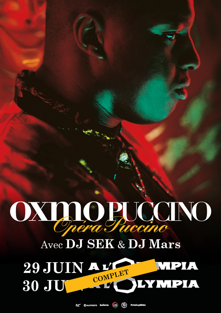 Oxmo Puccino à L'Olympia