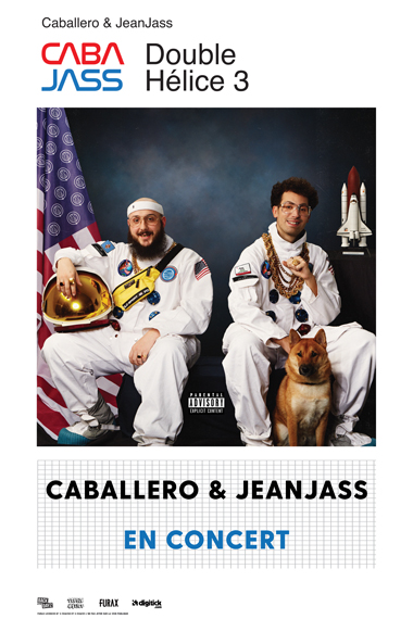 Caballero & JeanJass • La Cigale, Paris