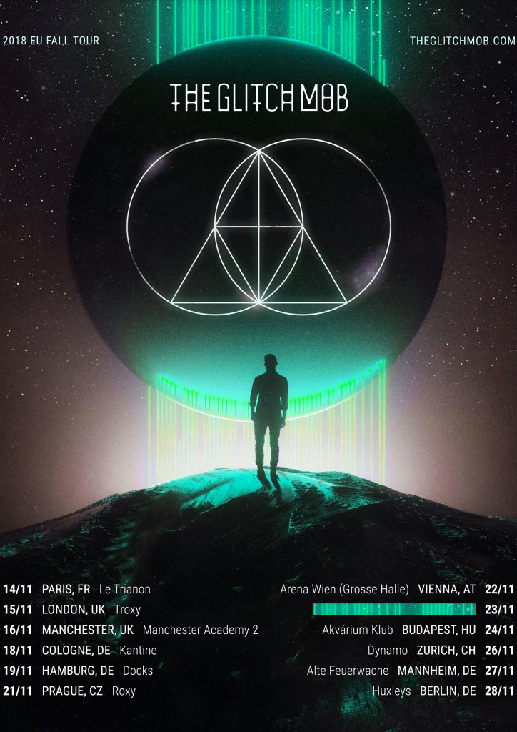 The Glitch Mob - Le Trianon, Paris - 14.11.18