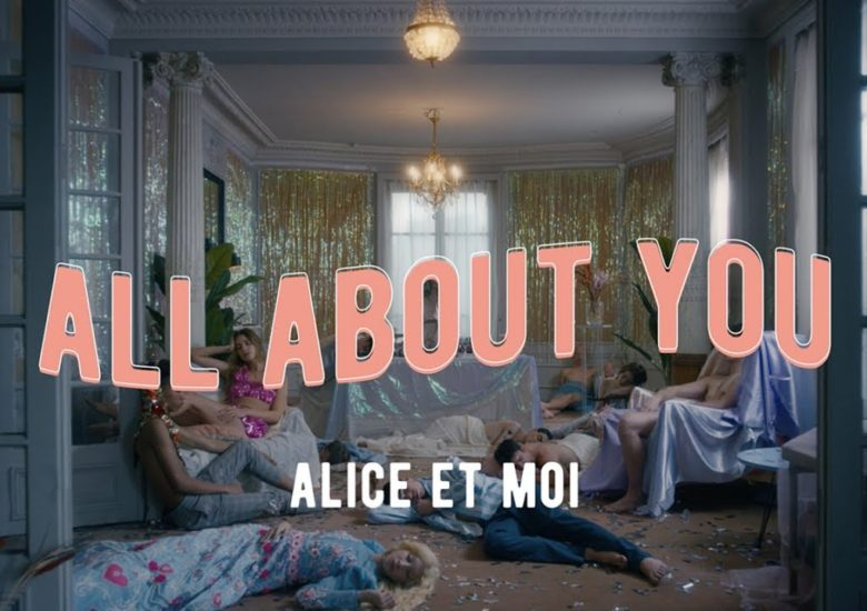"En after avec Alice et Moi pour le clip ""Je suis all about you"""